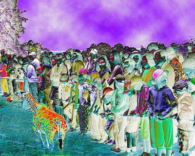 Digital Art - Loss Of Wonder by Philip Brent