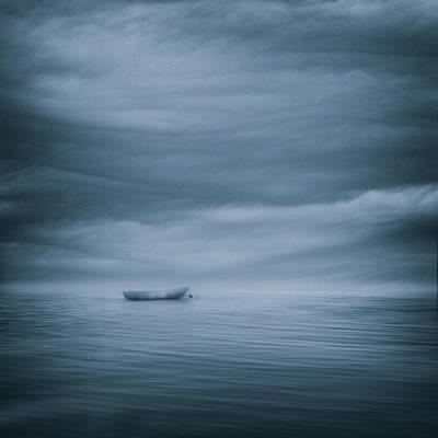 Blue Tone Photograph - Lost ... by Joanna Maciszka