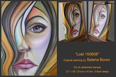 Art Print featuring the painting Lost 150808 by Selena Boron
