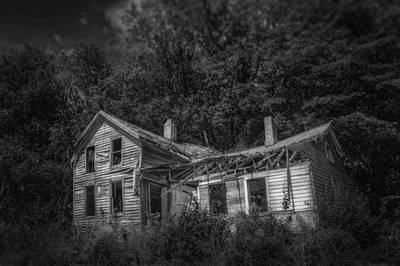Abandoned Structures Photograph - Lost And Alone by Scott Norris