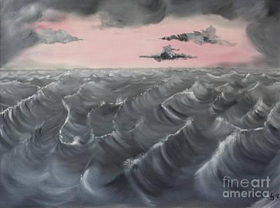 Stormy Weather Painting - Lost by Andreas Berheide