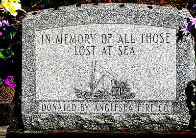 Photograph - Lost At Sea Memorial by Pamela Hyde Wilson