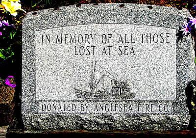 Photograph - Lost At Sea Memorial by Pamela Hyde Wilson
