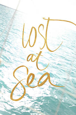 Lost At Sea Photograph - Lost At Sea by Susan Bryant