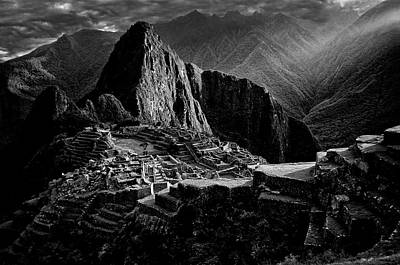 Peru Photograph - Lost City Of The Incas by Alejandro Fern?ndez Mu?oz
