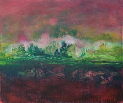 Atlantis Painting - Lost City by Tara Arnold