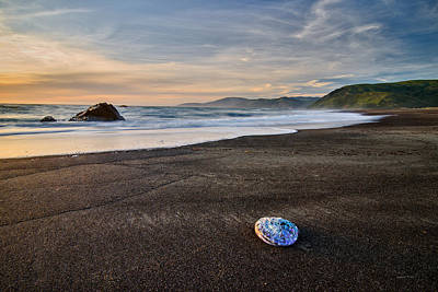 Photograph - Lost Coast Beach by Leland D Howard