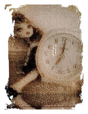Lost Doll In Time Art Print