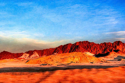 Photograph - Lost Egyptian Landscape by Mark E Tisdale