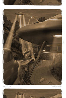 Spacecraft Digital Art - Lost Film 35 Mm by Mike McGlothlen
