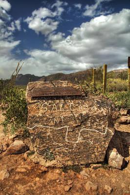 Arizona Photograph - Lost Goldmine Rock by Terri Procknow