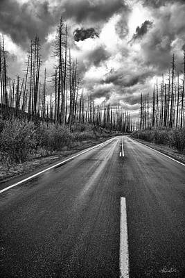 Photograph - Lost Highway by Renee Sullivan