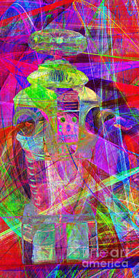 Robotics Digital Art - Lost In Abstract Space 20130611 Long Version by Wingsdomain Art and Photography