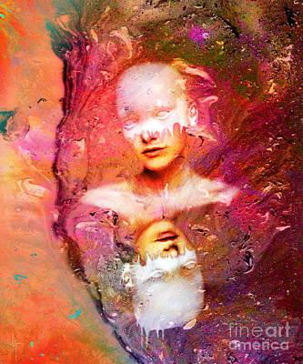 Painted Mixed Media - Lost In Art by Jacky Gerritsen