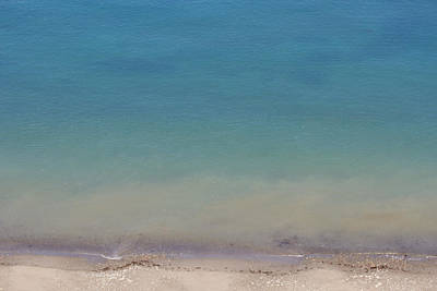 Photograph - Lost In Pacific Color - Ocean Blue by Marie Jamieson