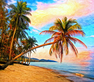 Koh Samui Painting - Lost In Paradise by Michael Pickett