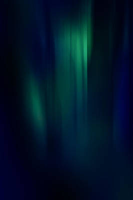 Deep Blue Photograph - Lost In The Enchanting Forest  3 by Jenny Rainbow