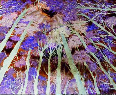Digital Art - Lost In The Forest by Lucia Grilletto