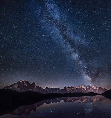Milky Way Wall Art - Photograph - Lost In The Stars by Alfredo Costanzo