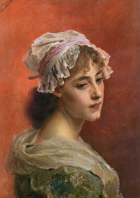 Burnt Digital Art - Lost In Thought by Gustave Jean Jacquet