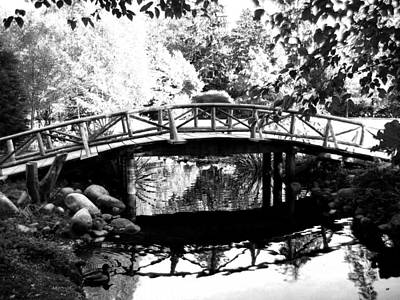 Photograph - Lost Lagoon Bridge  by Will Borden