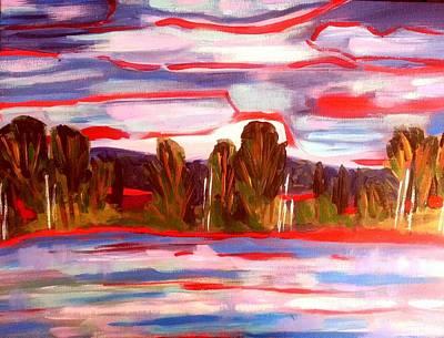 Painting - Lost Lake 1 by Nikki Dalton