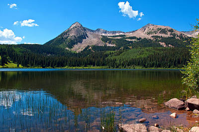 Photograph - Lost Lake by Eric Rundle