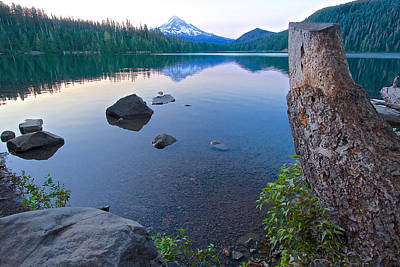 Photograph - Lost Lake Morning 81014b by Todd Kreuter