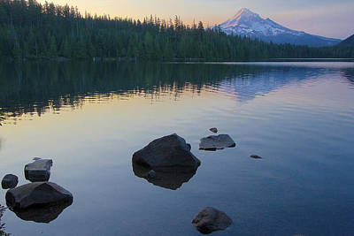 Photograph - Lost Lake Morning 81014c by Todd Kreuter