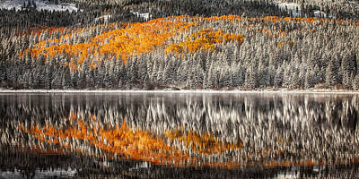 Jeff Johnson Photograph - Lost Lake Reflections by Jeff Johnson