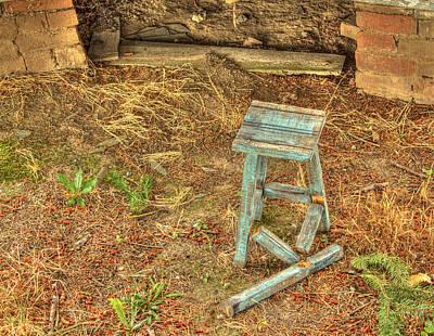 Photograph - Lost Leg by Jean Noren
