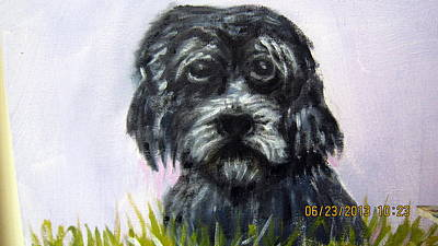 Abandoned Pets Painting - Lost by Lia  Marsman