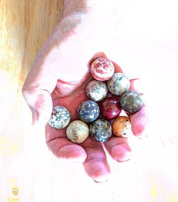 Digital Art - Lost My Marbles by Aliceann Carlton