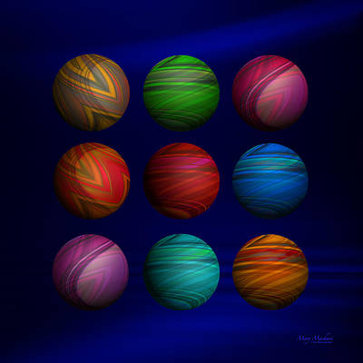 My Space Digital Art - Lost My Marbles by Mary Machare