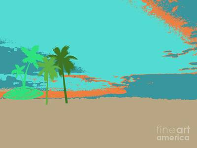 Priska Wettstein Pink Hues - Lost on an Island by Cindy McClung