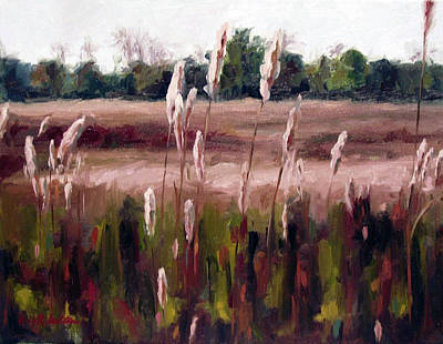 Painting - Lost On The Trail At Chickasaw Meadow by Erin Rickelton