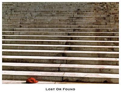 Lost Or Found Art Print by Lorenzo Laiken