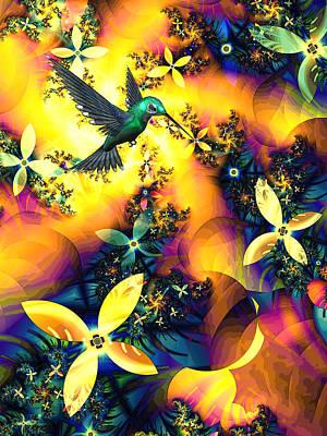 Kaleidoscope Mixed Media - Lost Paradise by Sharon Lisa Clarke