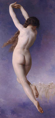 Pleiades Painting - Lost Pleiad by William-Adolphe Bouguereau