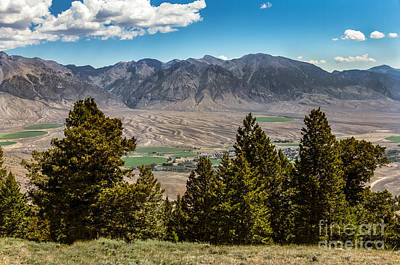 Lost River Mountains Art Print by Robert Bales