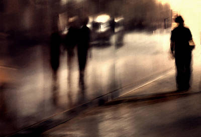 Icm Photograph - Lost Shadows by Mirela Momanu