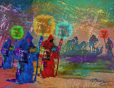 Lost Souls In Purgatory Art Print