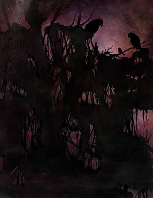 Lost Sparrow Art Print