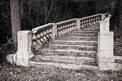 Staircase Photograph - Lost Staircase by Olivier Le Queinec