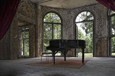 Ruin Photograph - Lost Tones by Joachim G Pinkawa