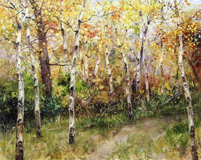 Lost Trail Found Art Print by Bill Inman