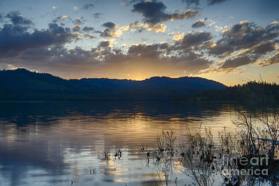 Photograph - Lost Valley Reservoir by Idaho Scenic Images Linda Lantzy