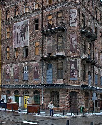 Street Scene Photograph - Lost Warsaw by Steven Richman