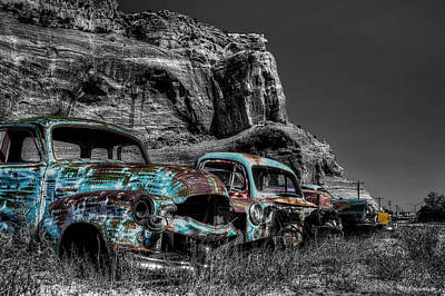 Photograph - Lost With Time by Jeff Niederstadt