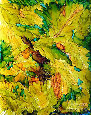 Painting - Lost Within The Palm Tree Grove by Vicki  Housel